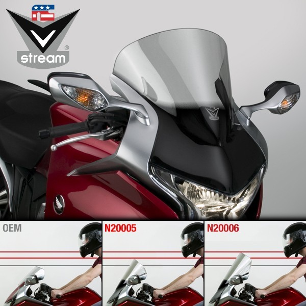 National Cycle ナショナルサイクル VStream(R) スポーツ補修スクリーン  (VStream (R) Sport Replacement Screen) VFR1200F VFR1200F VFR1200F VFR1200F DCT 13 VFR1200F DCT VFR1200F DCT