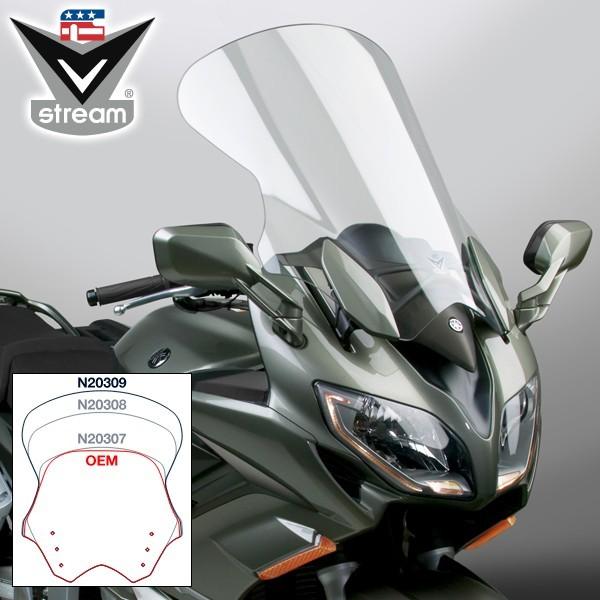 【在庫あり】National Cycle ナショナルサイクル VStream(R) ツーリング補修スクリーン  (VStream (R) Touring Replacement Screen) FJR1300A ABS FJR1300A ABS