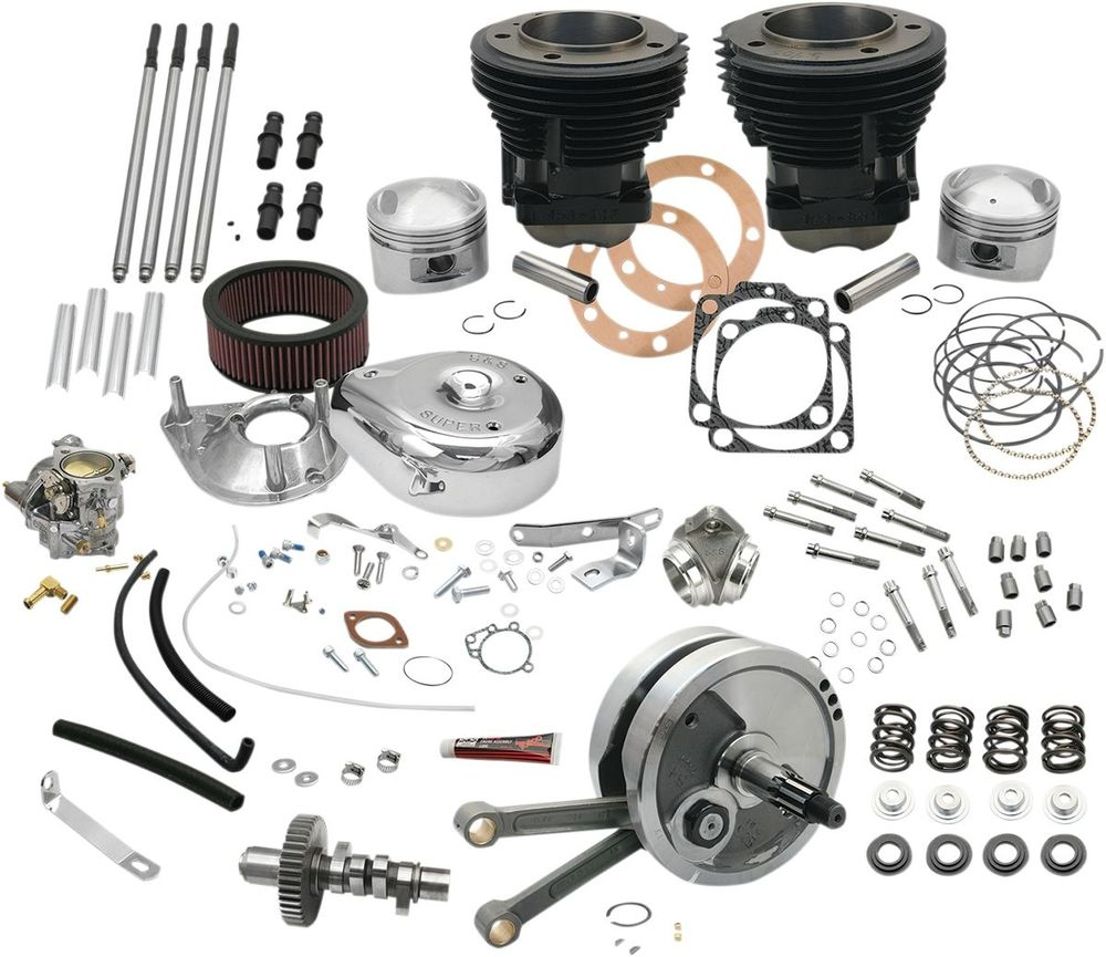 """S&S CYCLE エスアンドエス サイクル その他エンジンパーツ ホットセットアップキット 93"""" 73-77BT用 【93""""HOT SETUP KIT 73-77BT [0903-0070]】"""