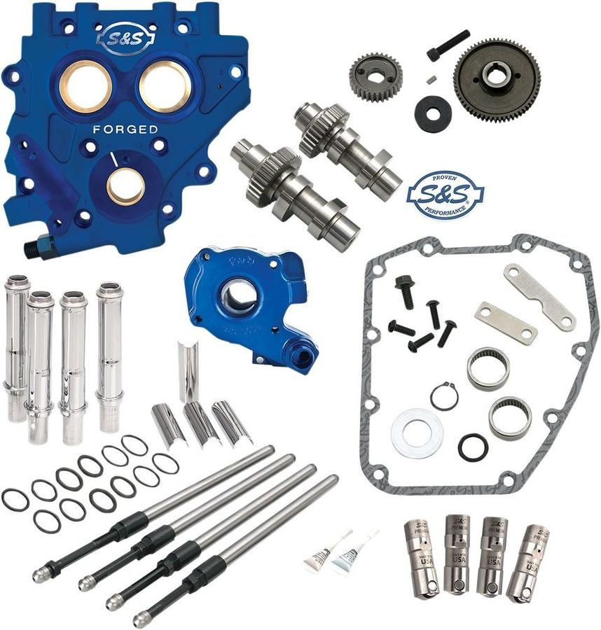S&S CYCLE エスアンドエス サイクル カムシャフト プレート付き510G 2007-16用 【CAMS 510G W/PLATE 07-16 [0925-1102]】