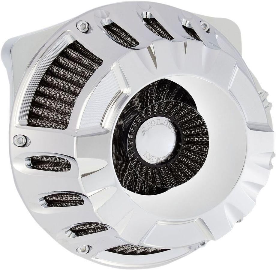 ARLEN NESS アレンネス エアクリーナー・エアエレメント エアクリーナー ディープカット BT 1999-16用【AIR CLN DP-CUT99-16BT】 COLOR:Natural (FINISH:Chrome)