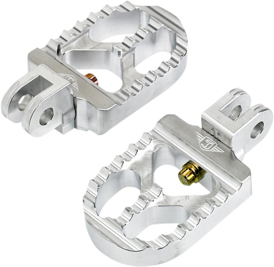 <title>送料無料 ステップ JOKER 買い物 MACHINE ジョーカーマシーン 08-57-4 フットペグ フロアボード ペグ ADJ S. RAW TRIUMPH PEG SERATD S. TRI 1620-1615</title>