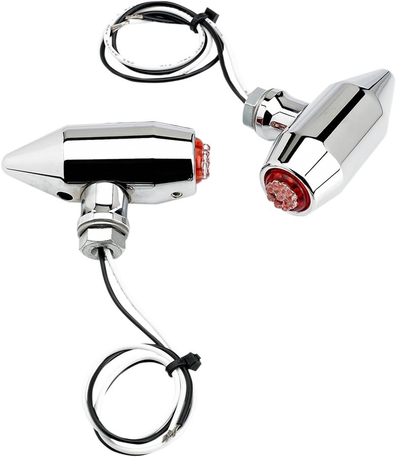 JOKER MACHINE ジョーカーマシーン ウインカー LED ベガセンターレッド クローム 【LED VEGA CNTR RED CHROME [2020-0958]】
