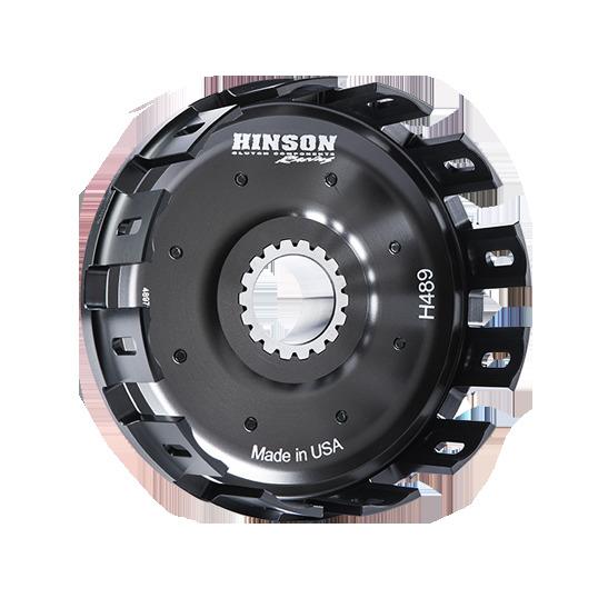 HINSON ヒンソン ビレットクラッチバスケット スタータギア付 CRF450R 2017