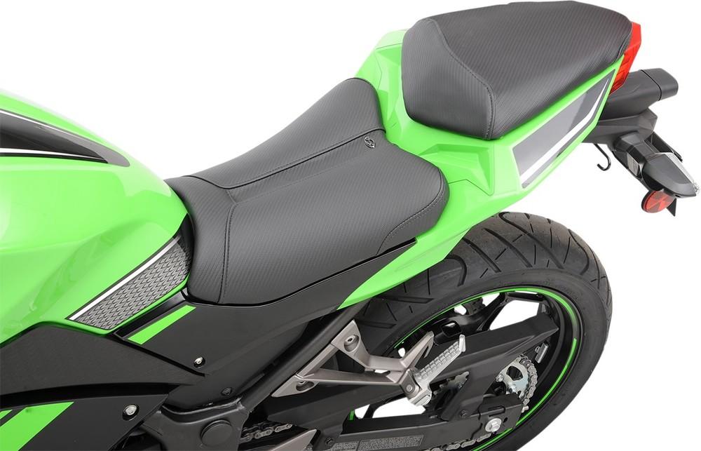 SADDLEMEN サドルメン シート本体 シート TRACK-CFスタイル ロー EX300用 【SEAT TRACK CF LOW EX300 [0810-1487]】 EX300R Ninja 300 2013 - 2016