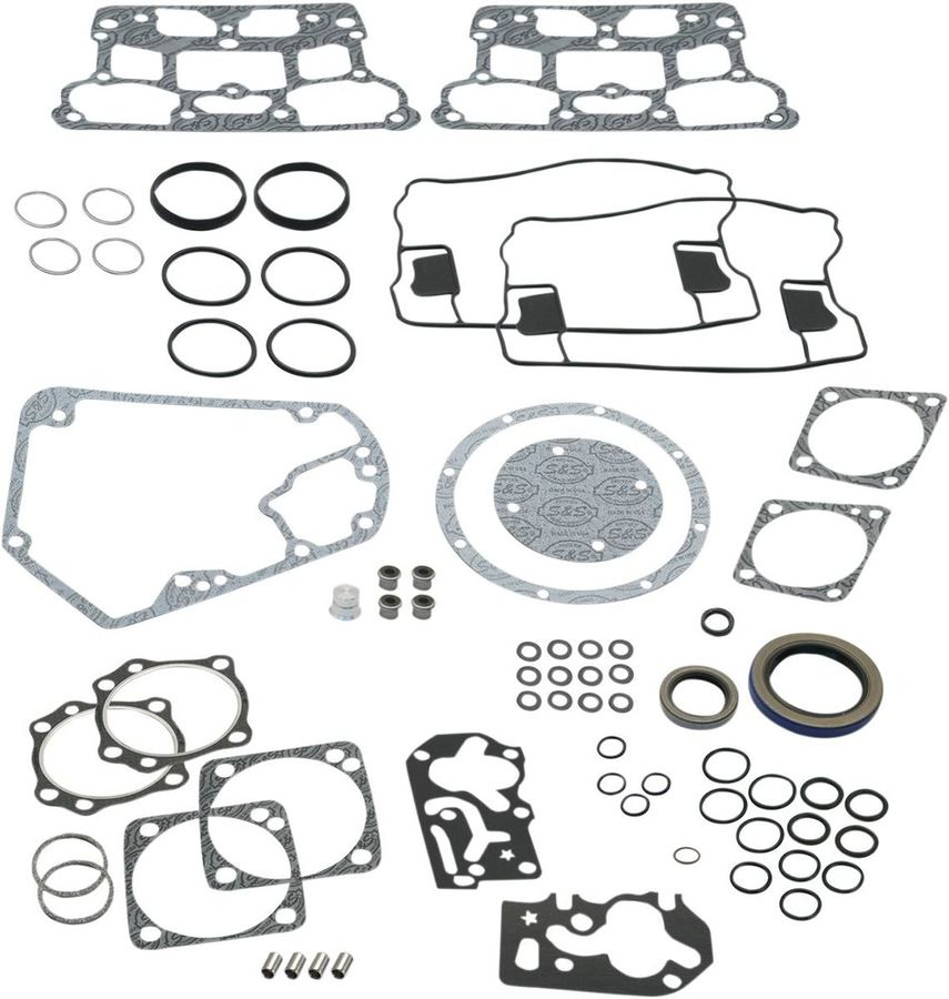 """S&S CYCLE エスアンドエス サイクル ガスケットキット 4-1/8"""" 84-99 【GASKET KT 4-1/8""""84-99 [0934-5026]】"""