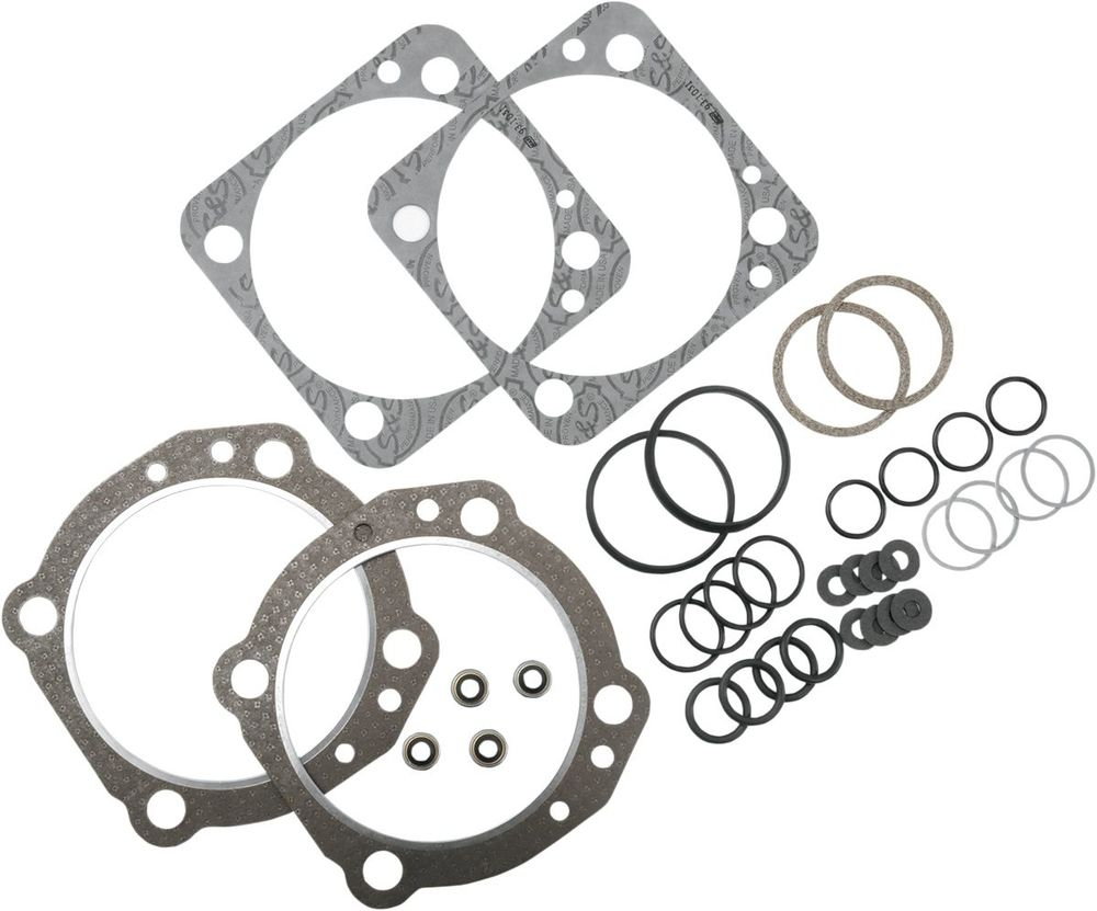 "S&S CYCLE エスアンドエス サイクル トップエンドガスケットキット 4""BT 【T/END GASKET 4""S&S BT [90-9503]】"