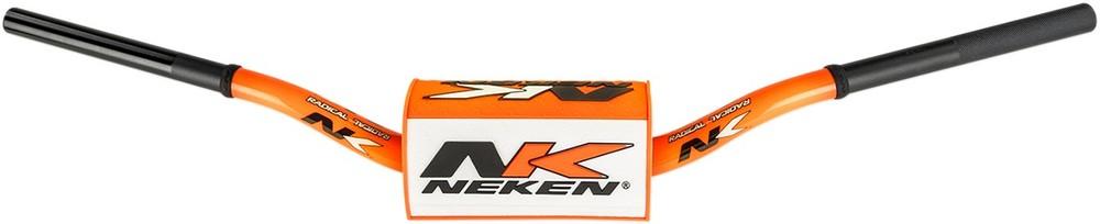 宅送 送料無料 ハンドル NEKEN ネケン R00025C-ORW オーバーサイズハンドルバー 85 HI FL OS BAR オレンジ WH NK 0601-3755 公式 ホワイト OR