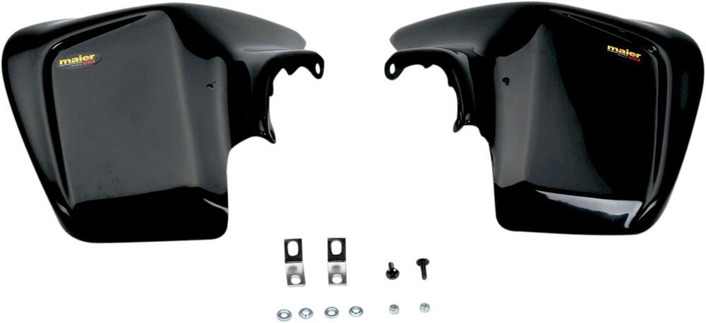MAIER メイヤー フロントフェンダー ブラック TRX450R用【FENDER FRONT TRX450R BK [1404-0042]】