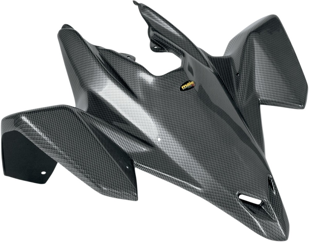 MAIER メイヤー フロントフェンダー ブラックカーボンファイバー LTR450 RACE用【FENDER FT LTR450 RACE BCF [1404-0266]】 LT-R450 Quad Racer 2006 - 2009