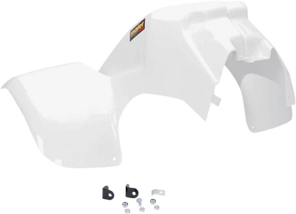 MAIER メイヤー フロントフェンダー ホワイト ATV LT230用【ATV FENDER FRNT LT230 WHT [M17779W]】