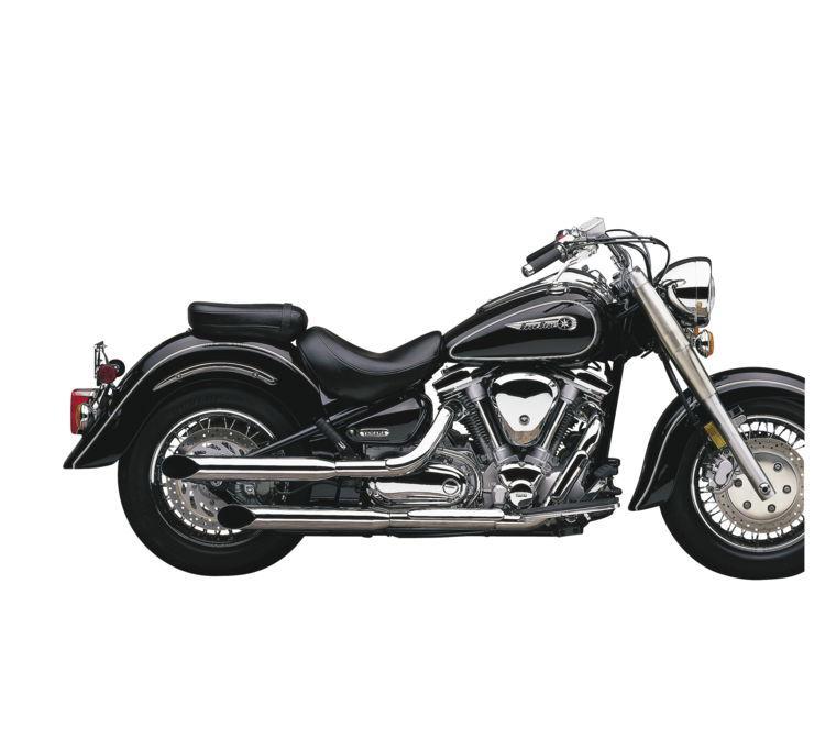 COBRA コブラ スリップオンマフラー YAMAHA ブルバード スリップオンサイレンサー【Yamaha Boulevard Slip-Ons】 XVS650 V-Star 98-05