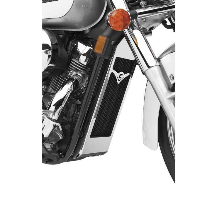 COBRA コブラ ラジエーター関連部品 ラジエーターカバー【Radiator Cover】 VT750C Shadow Aero 2004 - 2016