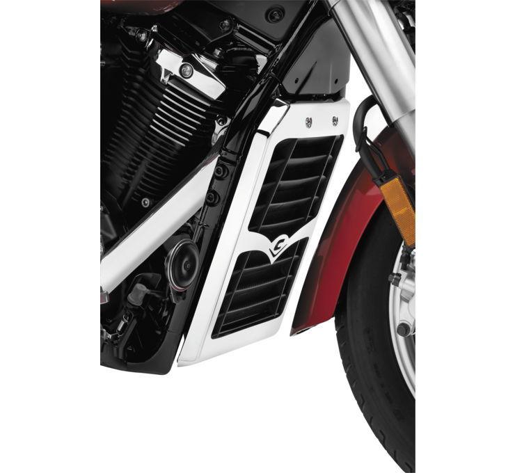 COBRA コブラ ラジエーター関連部品 ラジエーターカバー【Radiator Cover】 XVS1300A V-Star 2007 - 2010 XVS1300CT V-Star Tourer 2007 - 2010