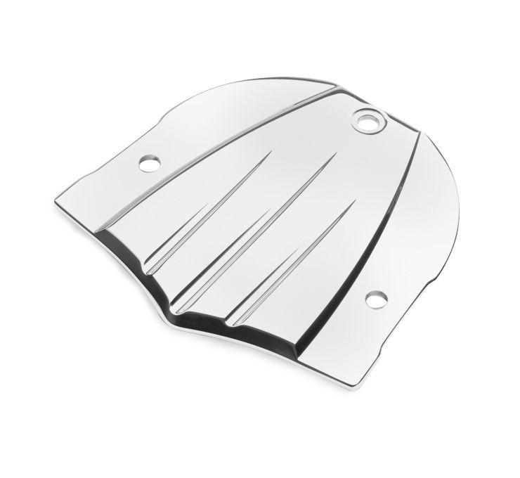 COBRA コブラ バックレスト・グラブバー ビレットバックレストプレート【Billet Backrest Plate】 Type:Fluted (Standard)