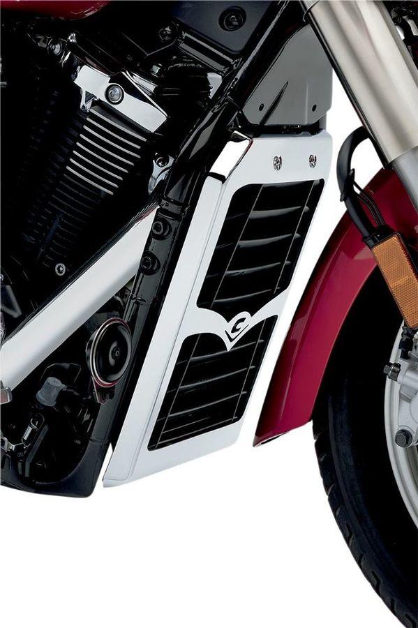 COBRA コブラ ラジエーター関連部品 ラジエーターカバー【Radiator Cover】 XVS1300A V-Star 2011 - 2015 XVS1300CT V-Star Tourer 2011 - 2015