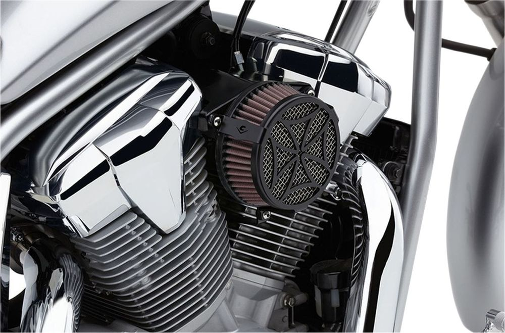 COBRA コブラ エアクリーナー・エアエレメント エアクリーナー【Air Cleaners】 Type:Cross/Black XV950 Bolt 2013 - 2016