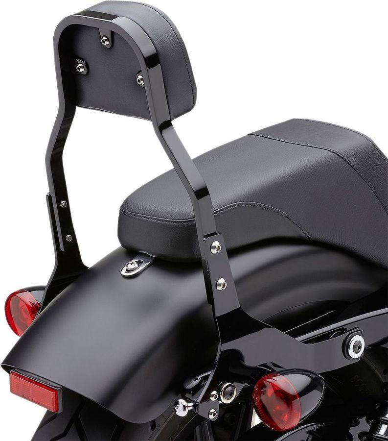 COBRA コブラ バックレスト・グラブバー 着脱式バックレスト/マウントキット【Detachable Backrest and Mount Kits】 Color:Black
