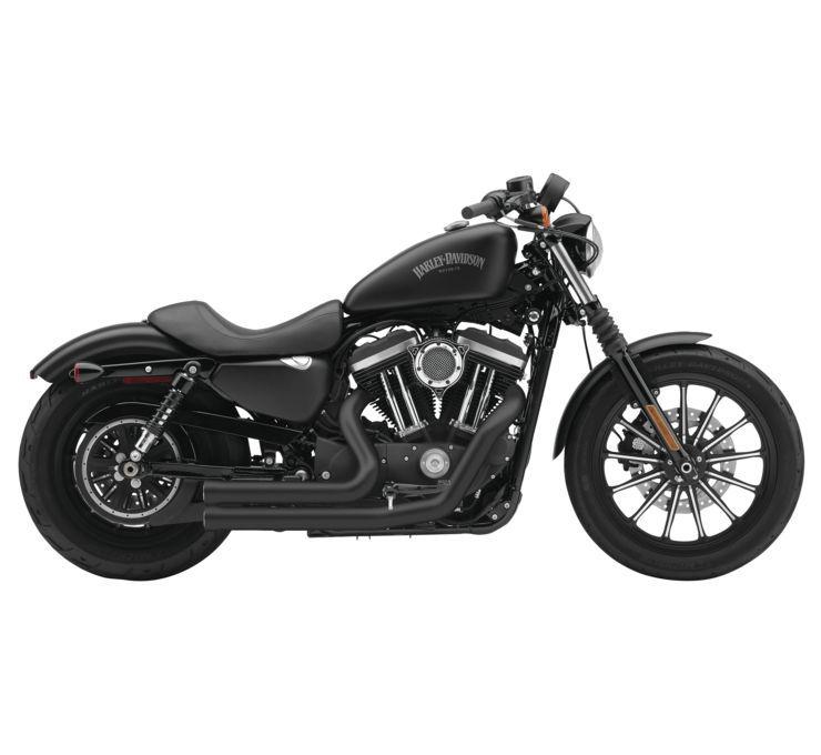 COBRA コブラ フルエキゾーストマフラー スピードスター V-TWIN【Speedsters for V-Twin】 Color:Black