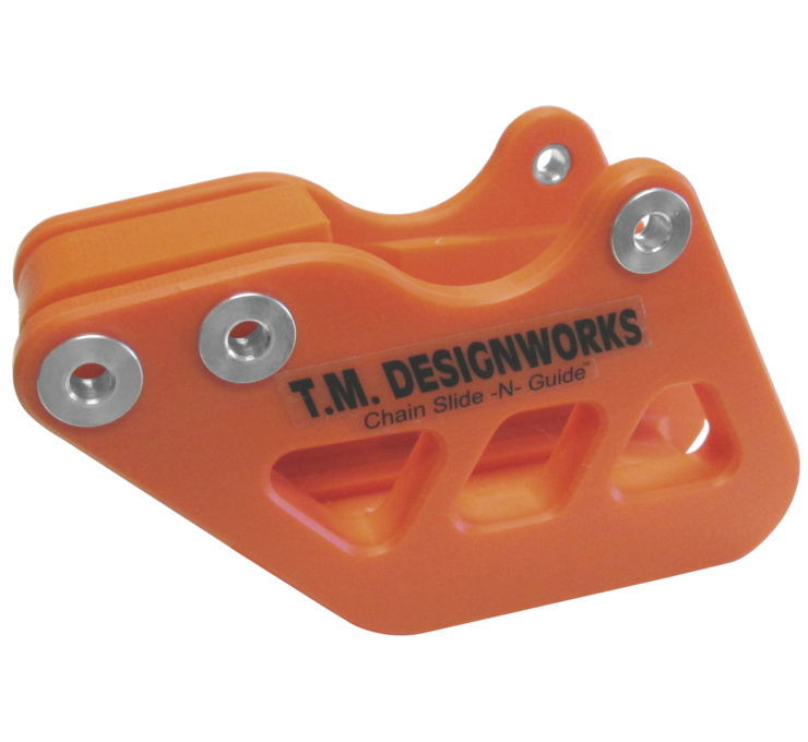 TM Designworks ティーエムデザインワークス スイングアーム FACTORY EDITION 1 リアチェーンガイド 【Factory Edition 1 Rear Chain Guide】 Color:Orange [971086]