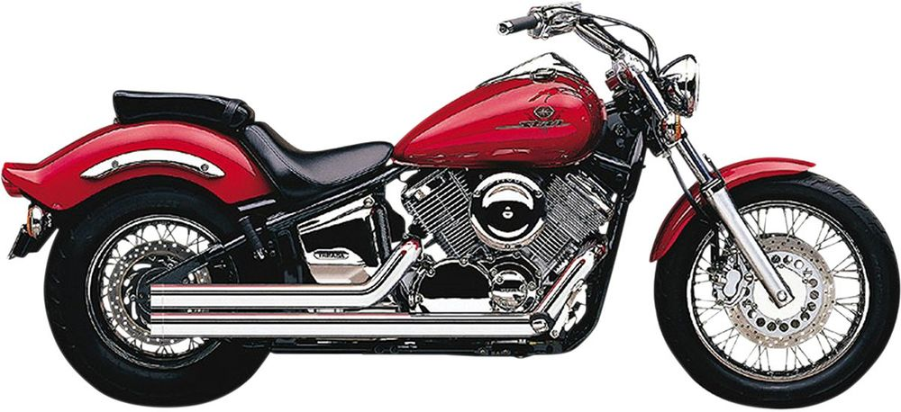 COBRA コブラ ショート エキゾーストシステム SPEEDSTER【Short Speedster Exhaust】 XVS1100 V-Star Custom 1999 - 2009