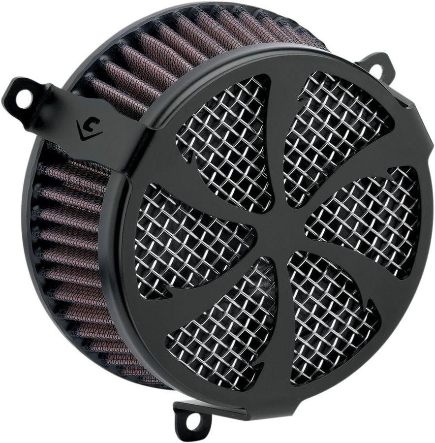 COBRA コブラ エアクリーナー・エアエレメント エアクリーナー【Air Cleaners】 Type:Swept/Black XVS1300C Stryker 2011 - 2016
