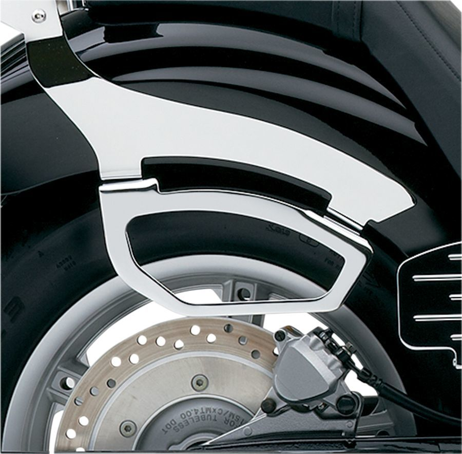 COBRA コブラ クローム サドルバッグサポート【Chromed Saddlebag Supports】 VT1300CR Stateline 2010 - 2016