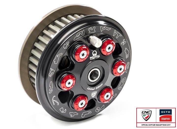 CNC Racing CNCレーシング スリッパークラッチ マスターテック カラー:レッド