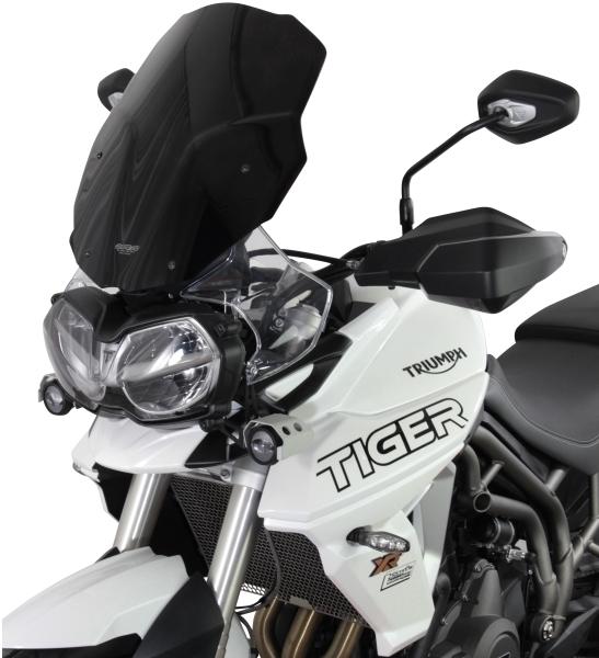 MRA エムアールエー スクリーンツーリング カラー:ブラック TIGER800XCA TIGER800XCx TIGER800XR TIGER800XRT TIGER800XRx