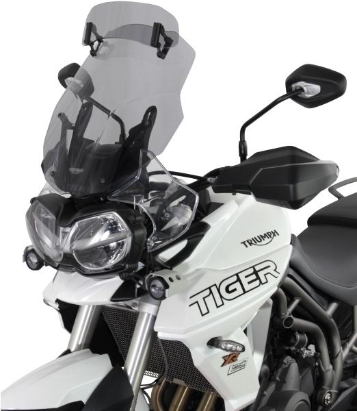 MRA エムアールエー スクリーン ヴァリオ ツーリング カラー:スモーク TIGER800XCA TIGER800XCx TIGER800XR TIGER800XRT TIGER800XRx