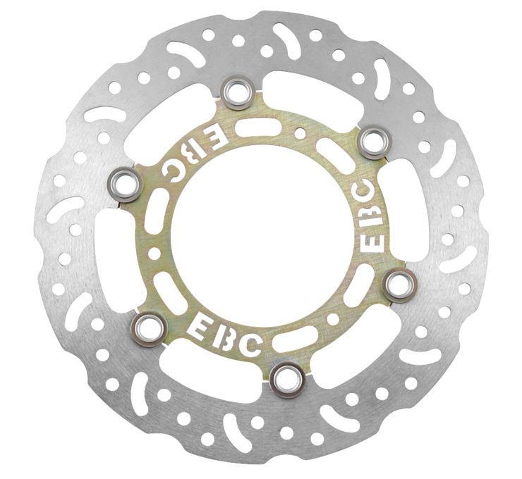 EBC イービーシー オーバーサイズ ミニコントゥアードローターキット 【Oversized Mini Contoured Rotor Kits [612789]】 CRF150R 07-14 CR85 RB Expert CR85 R CR80 RB Expert CR80 R