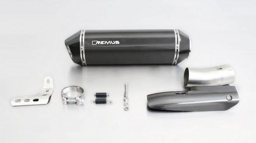 REMUS レムス HEXACONE スリップオンマフラー サイレンサー素材:カーボン R 1200 RT
