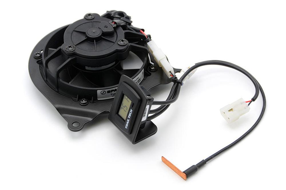TrailTech トレイルテック ラジエーター関連部品 デジタルクーリング(冷却)ファンキット CRF250L