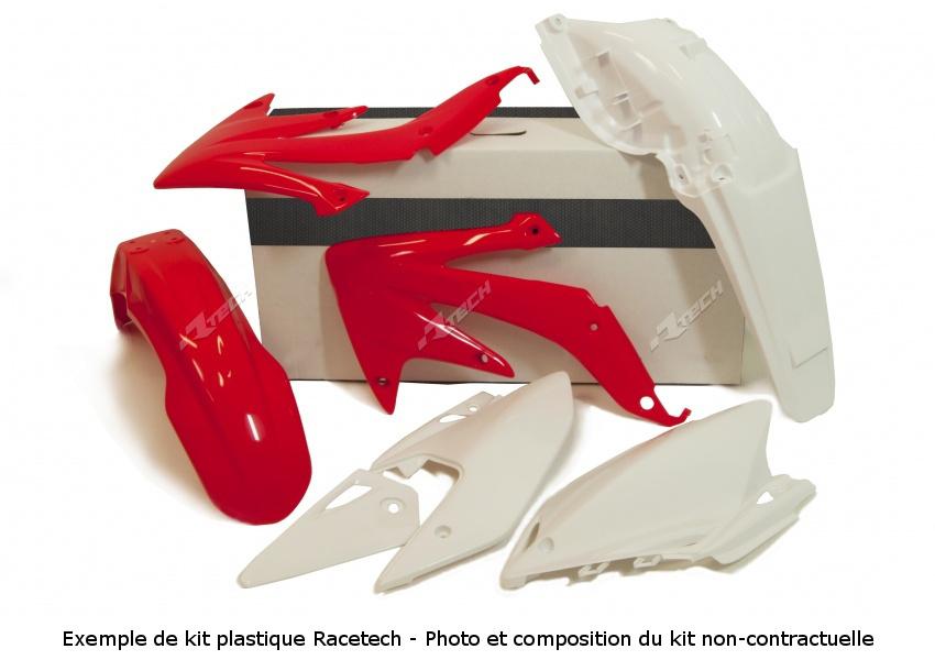 RACETECH レーステック プラスチックキット オリジナルカラー レッド/ホワイト HONDA Cr85r【【ヨーロッパ直輸入品】Kit Plastiques Color Origin Rouge/Blanc Honda Cr85r】 CR85R CR85RB (G. ROUES)