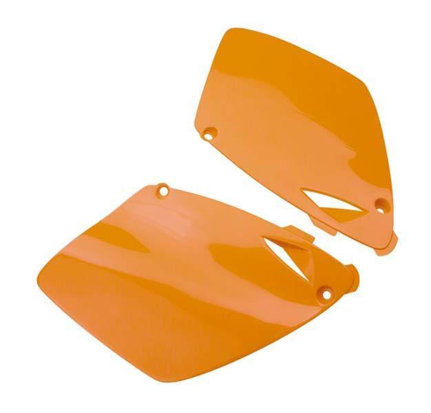 RACETECH レーステック サイドナンバープレート オレンジ EXC250 1998-03 ET SX250 1998-02【【ヨーロッパ直輸入品】Plaque Numero Laterale Orange For Exc250 1998-03 Et Sx250 1998-02】 SX125 SX200 SX250