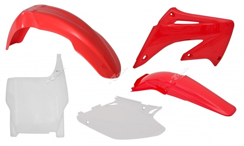 RACETECH レーステック フルカウル・セット外装 プラスチックキット 純正タイプ 【OE Plastic Kit【ヨーロッパ直輸入品】】 CR125R (125) 04-07 CR250R (250) 04-07