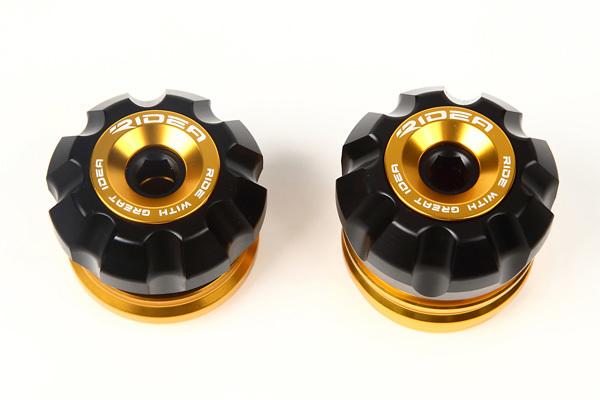 SSK:スピードラ エスエスケー:スピードラ ガード・スライダー フロントアクスルスライダー カラー:ゴールド MT-07