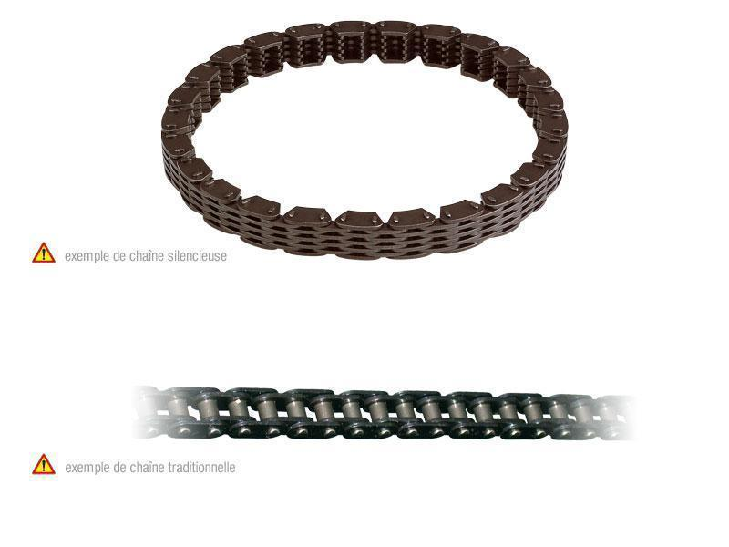 Prox プロックス タイミングチェーン 134リンク ER-6 2006-10/KLE650 2007-10/ZX-9R 1994-96用 (TIMING CHAIN LINK FOR 134 ER-6 06-10, 07-10 KLE650, ZX-9R 94-96【ヨーロッパ直輸入品】)