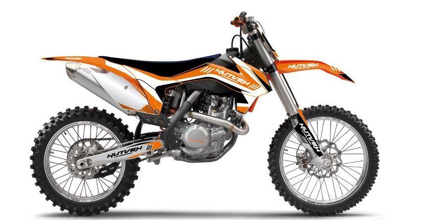 クヴェック ステッカー・デカール KUTVEK CHRONO グラフィックキット KTM SX-F250【Kutvek Chrono graphic kit KTM SX-F250】【ヨーロッパ直輸入品】 SX-F250 (250) 07-10
