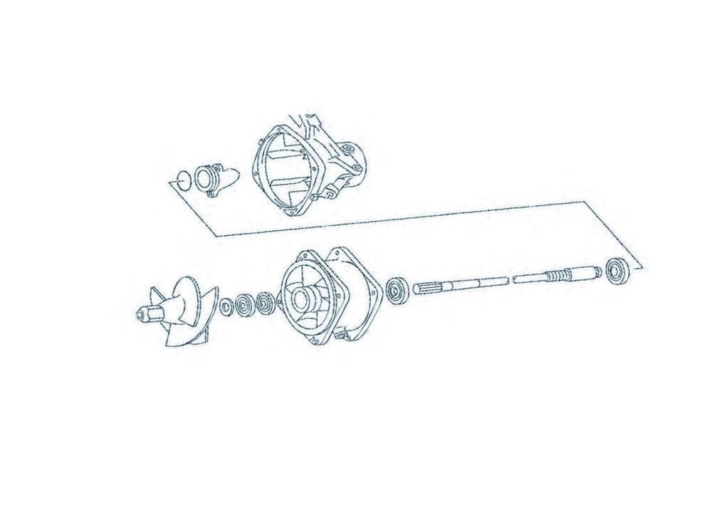 WSM ダブリューエスエム WSM タービンハウジング補修キット YAMAHA SUPER JET 650【turbine repair kit WSM Yamaha Super Jet 650】【ヨーロッパ直輸入品】