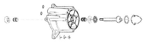 ダブリューエスエム その他エンジンパーツ WSM タービンハウジング補修キット SEA-DOO【turbine repair kit WSM Sea-doo】【ヨーロッパ直輸入品】