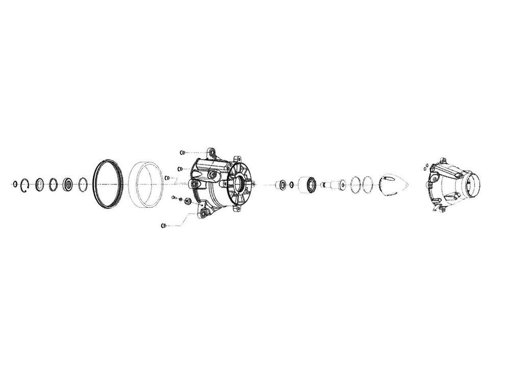 ダブリューエスエム その他エンジンパーツ WSM タービンハウジング補修キット SEA-DOO RXP/RXT【turbine repair kit WSM Sea-Doo RXP / RXT】【ヨーロッパ直輸入品】