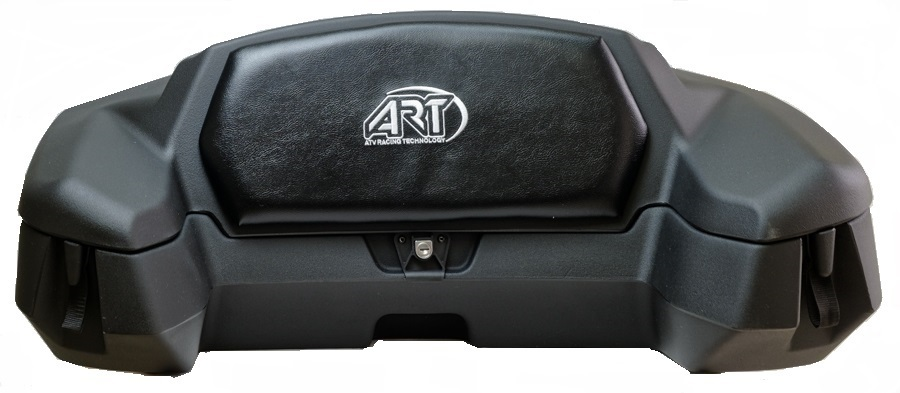 A.R.T エーアールティー トップケース・テールボックス カーゴ リア カーゴボックス ブラック ATV用 (ART Cargo Rear Cargo Box ATV Black【ヨーロッパ直輸入品】)