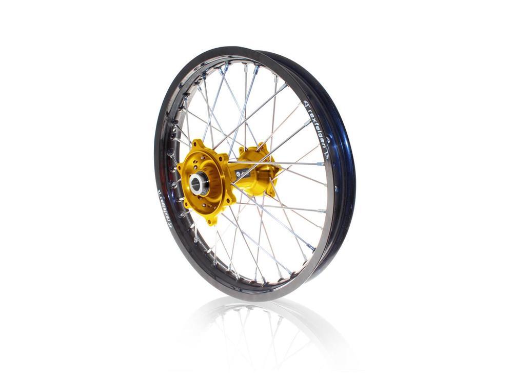 リア コンプリートホイールリム 19x2.15 ブラック/ゴールド SUZUKI RM-Z450用 (ART Complete rear wheel rim 19x2.15 black / gold hub Suzuki RM-Z450【ヨーロッパ直輸入品】)