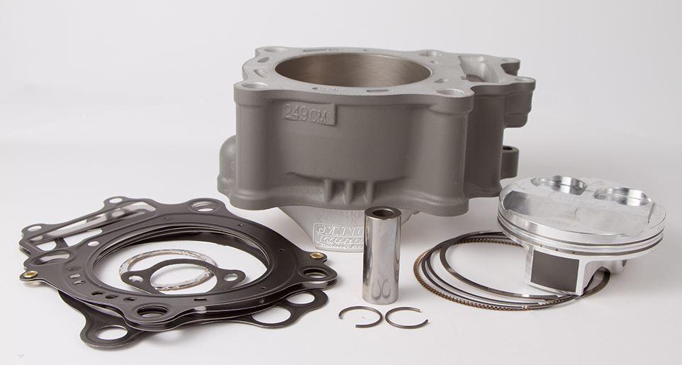ガスケット シリンダーピストンキット Φ77 KAWASAKI KX250F 250cc用 (Cylinder Works cylinder - piston kit Kawasaki KX250F O77 250cc【ヨーロッパ直輸入品】)