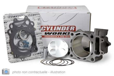 シリンダーピストンキット Φ90mm KLX400 2003 -04/DRZ400 2000 -09/400CC用 (KIT CYLINDER-PISTON CYLINDER WORKS FOR KLX400 03 -04, 00 -09 DRZ400, 400CC Φ90mm【ヨーロッパ直輸入品】)