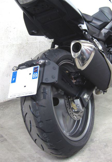 ACCESS DESIGN アクセスデザイン ナンバープレートスイングアームマウントキット GSR 750 (750) GSR 750 ABS (750)