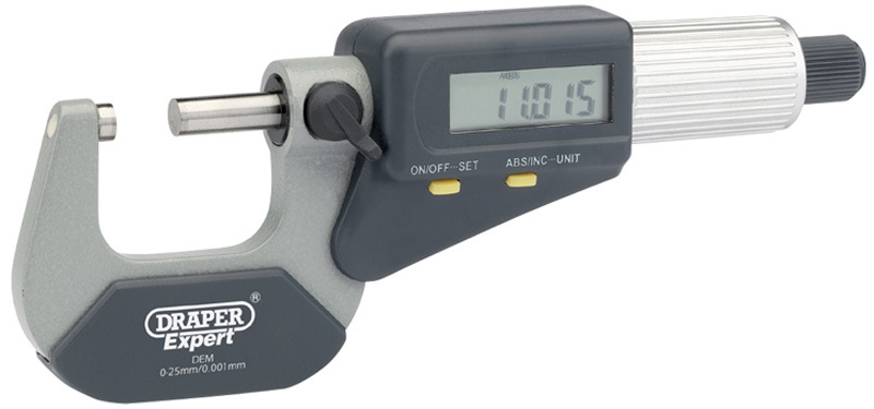 DRAPER ドラッパー DRAPER デジタルマイクロメーター【DRAPER Digital Micrometer】【ヨーロッパ直輸入品】