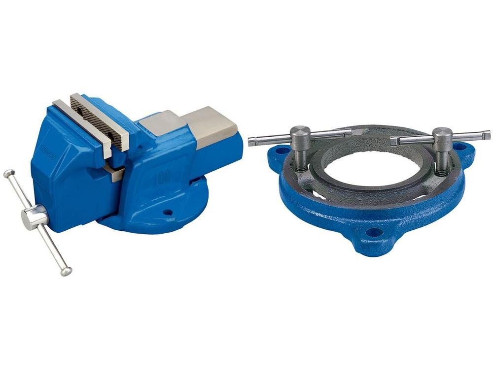 DRAPER ドラッパー DRAPER ベンチバイス 360 150mm ブルー【DRAPER Bench Vise 360 150mm blue】【ヨーロッパ直輸入品】