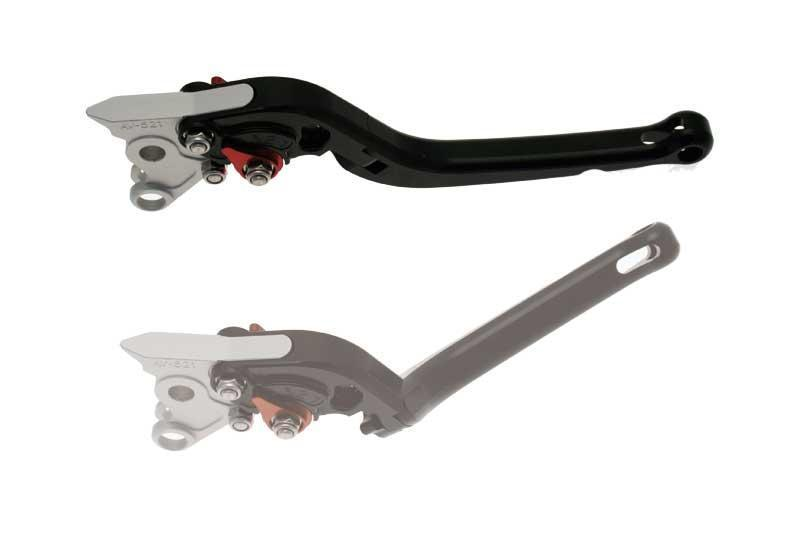 フォールディング クラッチレバー CNC加工アルミ ブラックアルマイト SUZUKI【Folding Clutch Lever CNC Machined Aluminium Black Anodised Suzuki【ヨーロッパ直輸入品】】